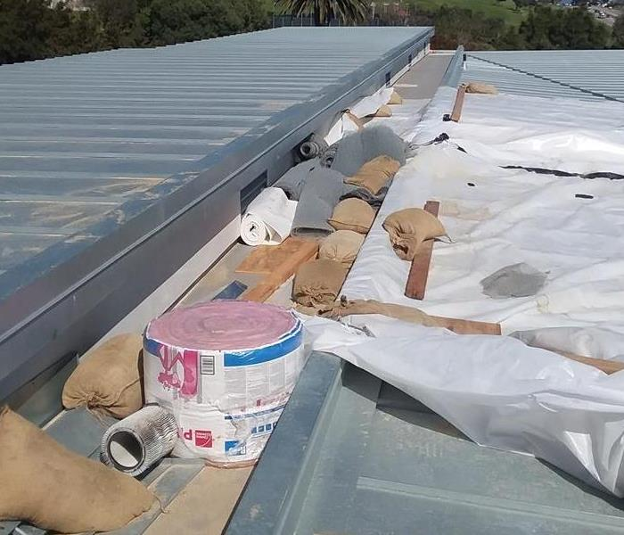 Commercial Commercial Roof Leak